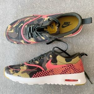 🍃 NIKE Air Max Camo Sneakers size 8.5